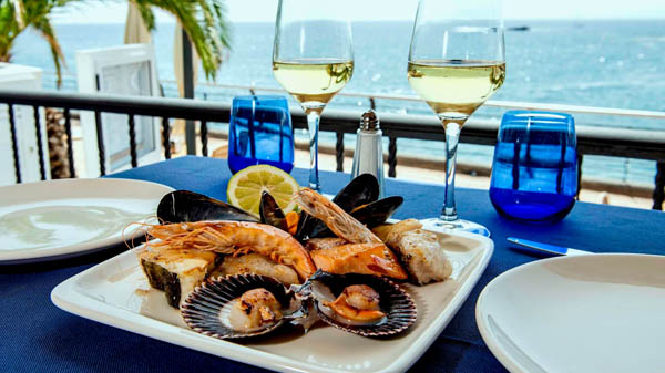 Sea food and fresh fish Restaurant in south Tenerife, Salitre.